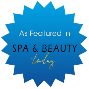 As Featured in Spa and Beauty Today badge