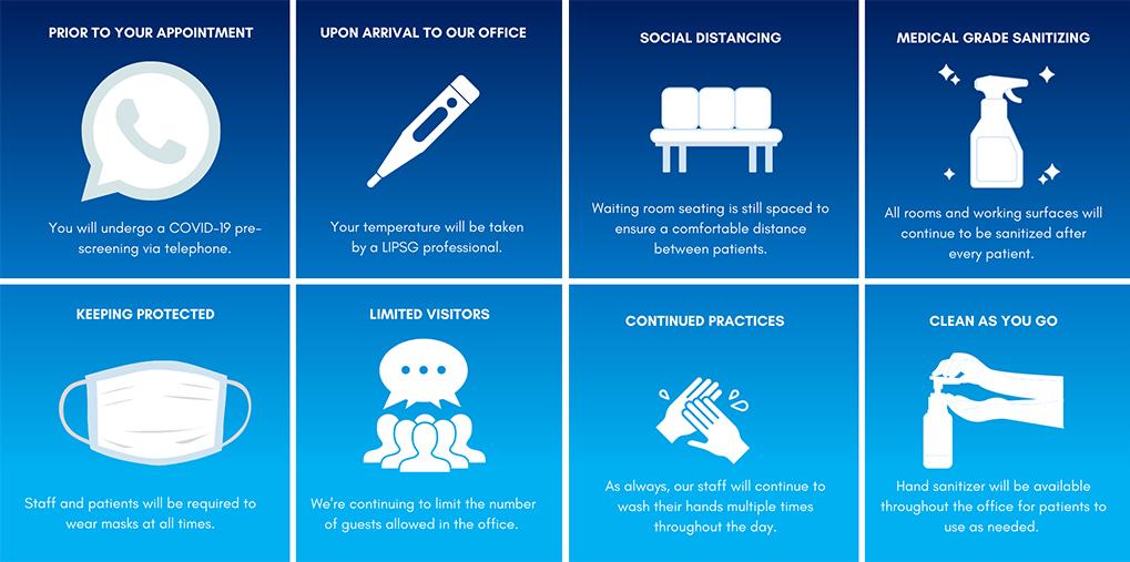 covid 19 protocol infographic