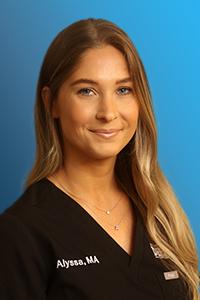 Alyssa Levine, Medical Assistant